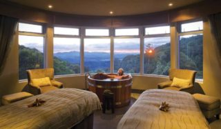 Lamington National Park view - O'Reilly's Rainforest Retreat, inland from the Gold Coast.