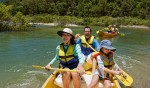 Canoe for you and the family - Kingfisher Bay Resort, Fraser Island, Queensland