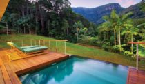 The infinity of the rainforest: Crystal Creek Rainforest Retreat, Murwillumbah.