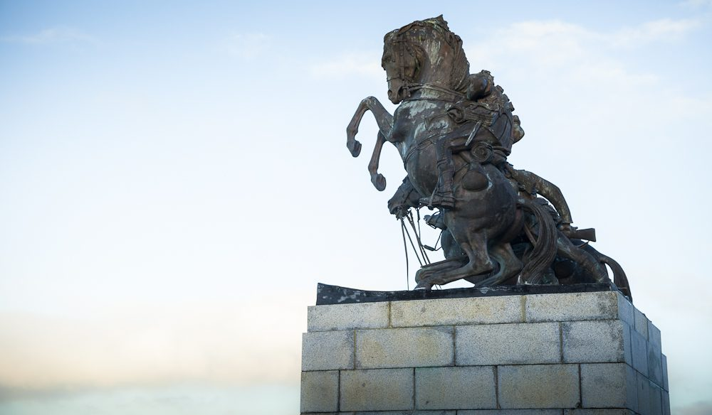 The ANZAC Memorial at the top of Mt Clarence, Albany.