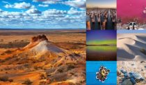January has been a particularly colourful month in the @austtraveller Instagram community.