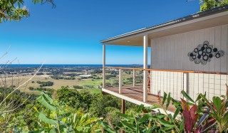 Byron Bay hinterland accommodation option: Byron's Secret.