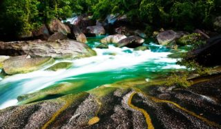 Devil's Pool at Babinda Boulders, near Cairns, Queensland