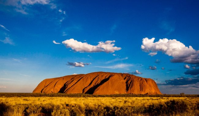 The many moods of Uluru