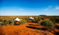 Uluru view: Longitude 131