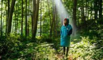 Glamping coat the Napsak by Poler Camping.