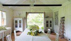 The Collette Dinnigan-decorated 'Surf & Stables', Milton (NSW South Coast).