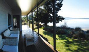 Tides Reach, Hastings Bay, Tasmania.