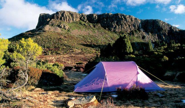 Camping Walls of Jerusalem National Park Tasmania