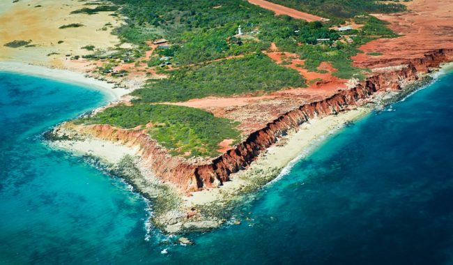 The Kimberley's Cape Leveque from small plane