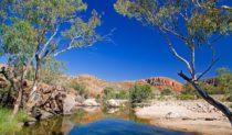 Ormiston Gorge, Larapinta Trail