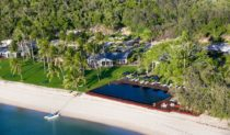 Orpheus Island by helicopter