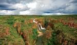 Wet or dry season: Twin Falls, Kakadu.