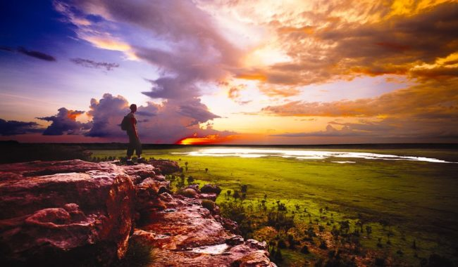 Kakadu Ubirr sunset