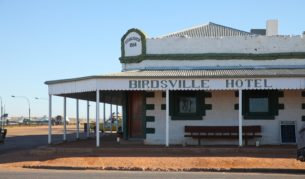 Outback oasis Birdsville hotel, Queensland photo Steve Madgwick