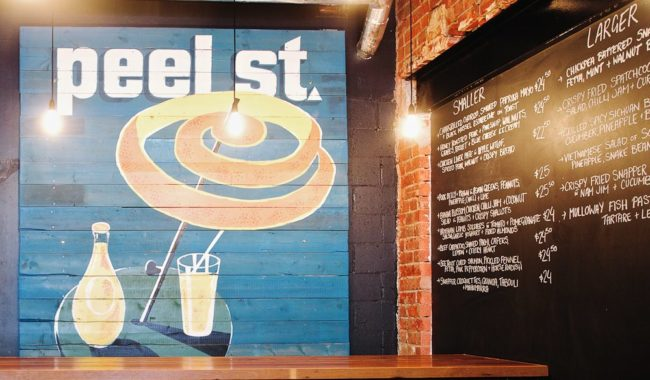 Peel St interior restaurant Adelaide