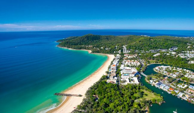 Noosa, one of Australia's fave beach holiday destinations.