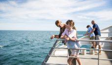 Family time: Kangaroo Island.