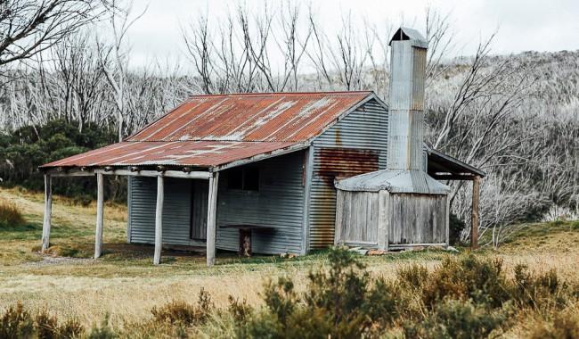 settler's hut Kosciuszko National Park