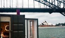 HotelTonight's $36,000 per night Spontaneity Suite drifting under the Sydney Harbour Bridge