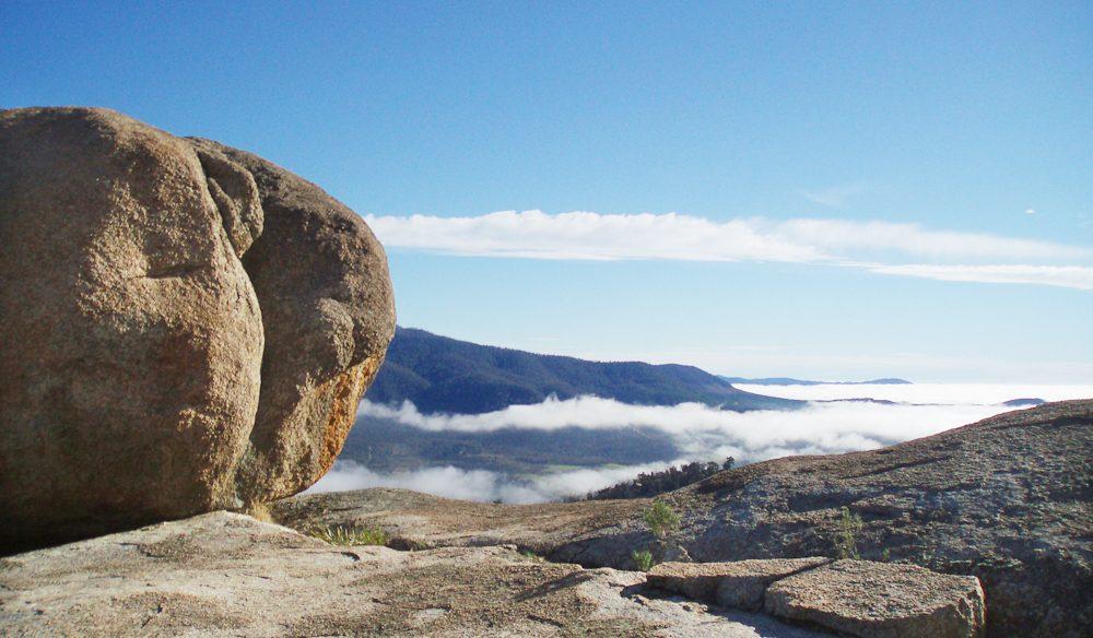 Gibraltar Peak in Tidbinbilla Nature Reserve