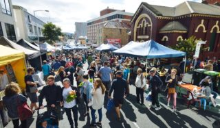 Farm Gate Market Hobart