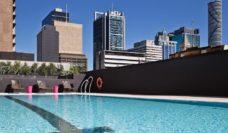 Cool in the pool, Hilton Brisbane