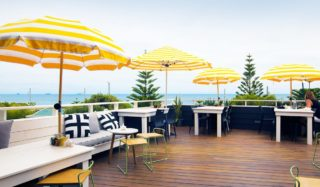 The Shorehouse's expansive sun deck