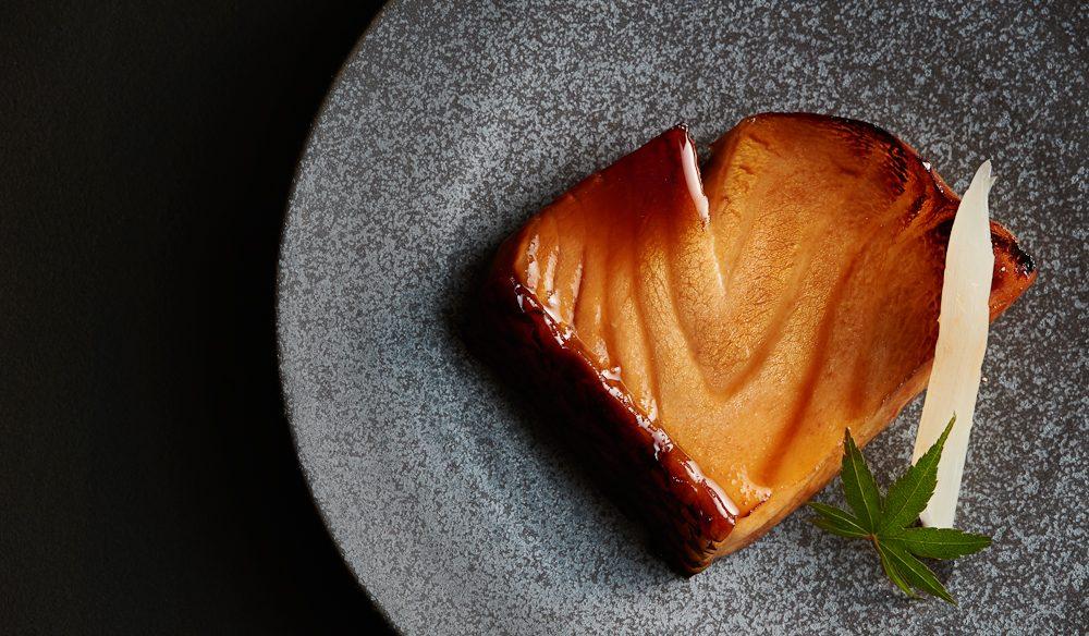 Artfully plated fish Minimishima