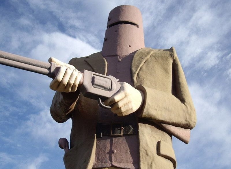 Larger than life: Ned Kelly