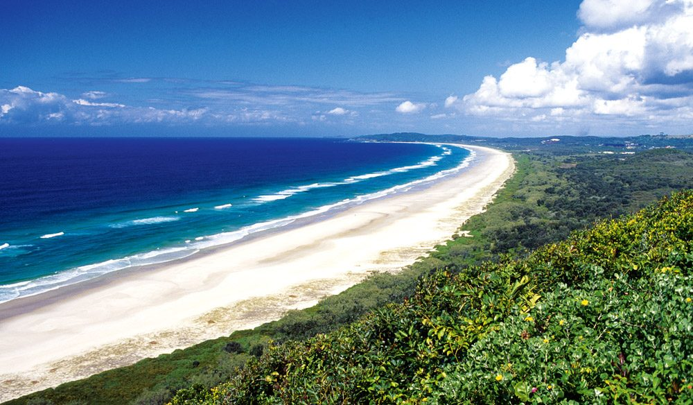 Watego's beach. Byron Bay
