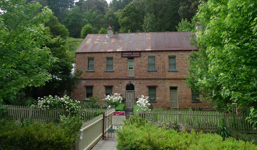 Guesthouse at Walhalla