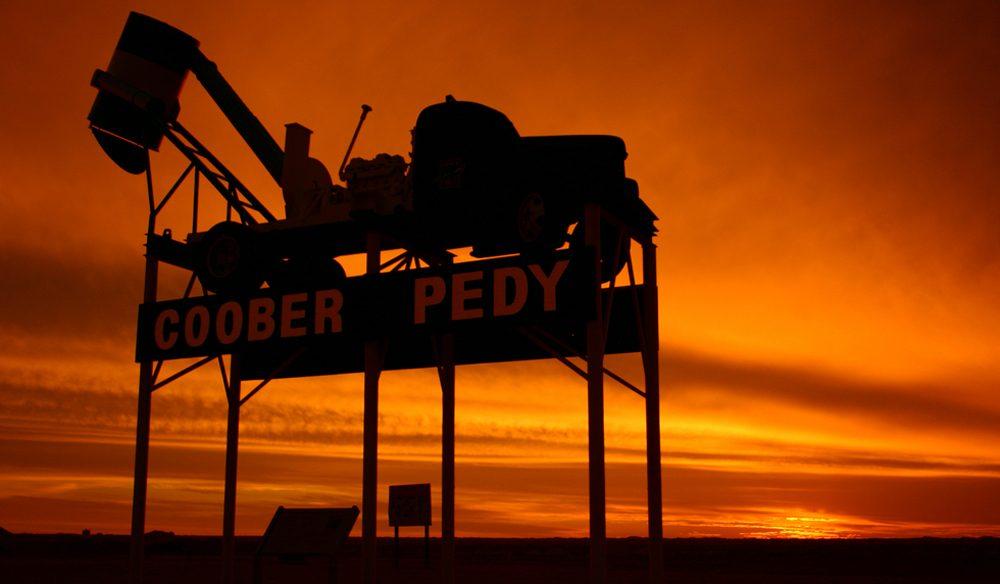 Explosive vistas: Coober Pedy, South Australia