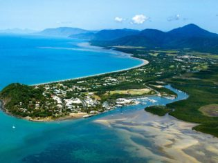 Lycra is 'in' at Port Douglas - when you want to go snorkelling that is.