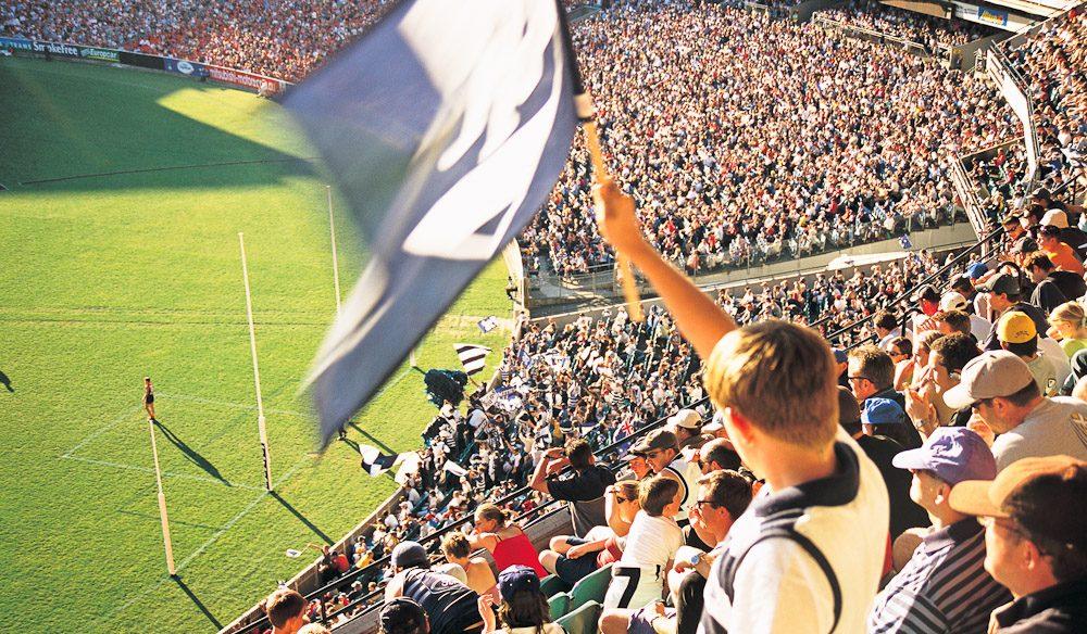 The MCG. Australia's home of football.
