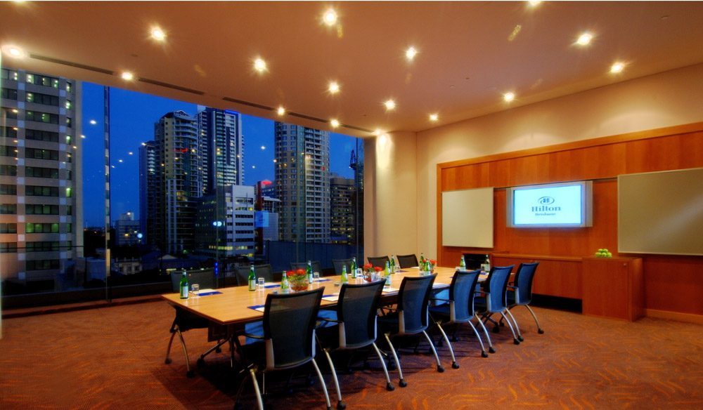 The Level 8 Meeting Room - Hilton Brisbane