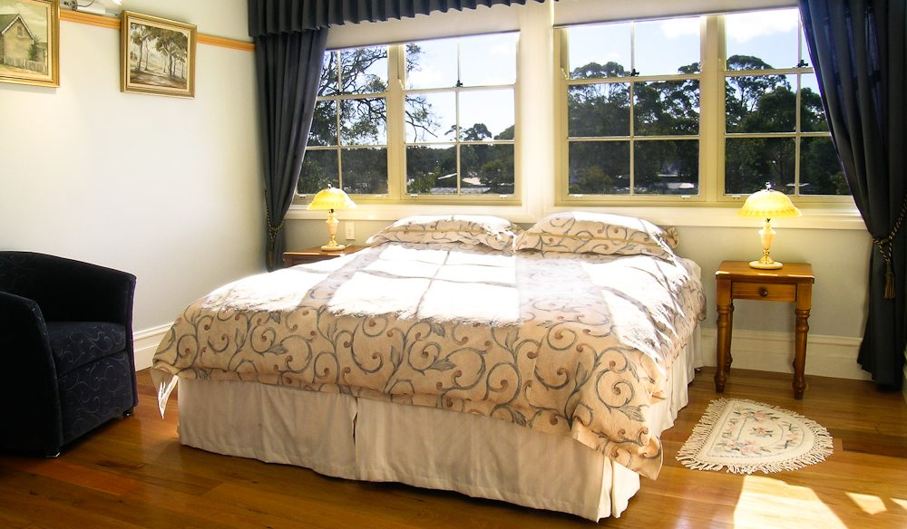Bed time:Sandholme Guesthouse, Huskisson, NSW South Coast