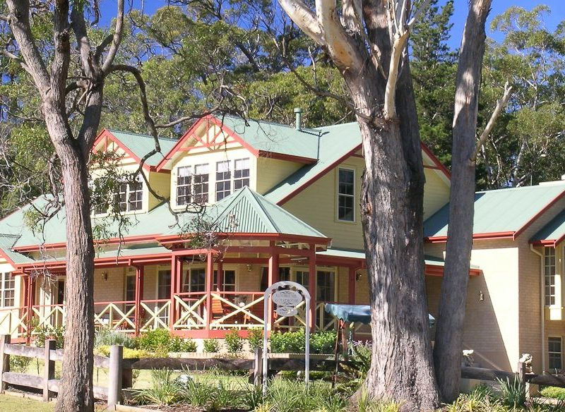 Sandholme Guesthouse at Huskisson on the NSW South Coast