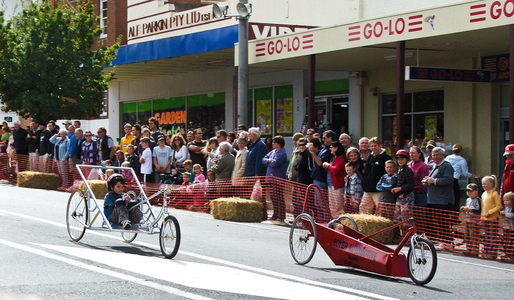 Australian Billy Cart Championships in Corowa