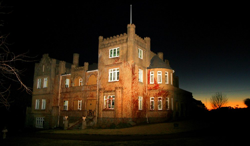 Spend a night at Kings Plains Castle , Glen Innes