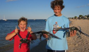Catch your own dinner at Black Point in South Australia