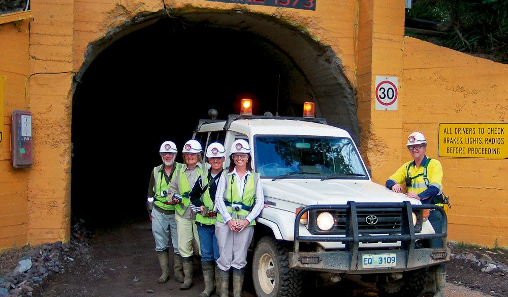 Underground Mine Tours