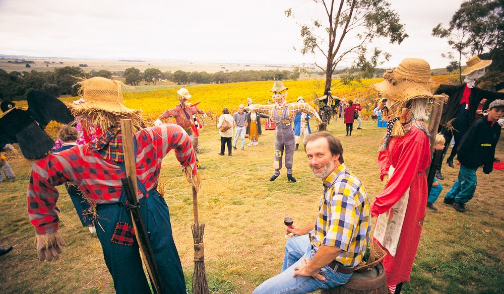 Scarecrows in the Vineyard