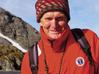 Mountain climber extraordinaire: Greg Mortimer