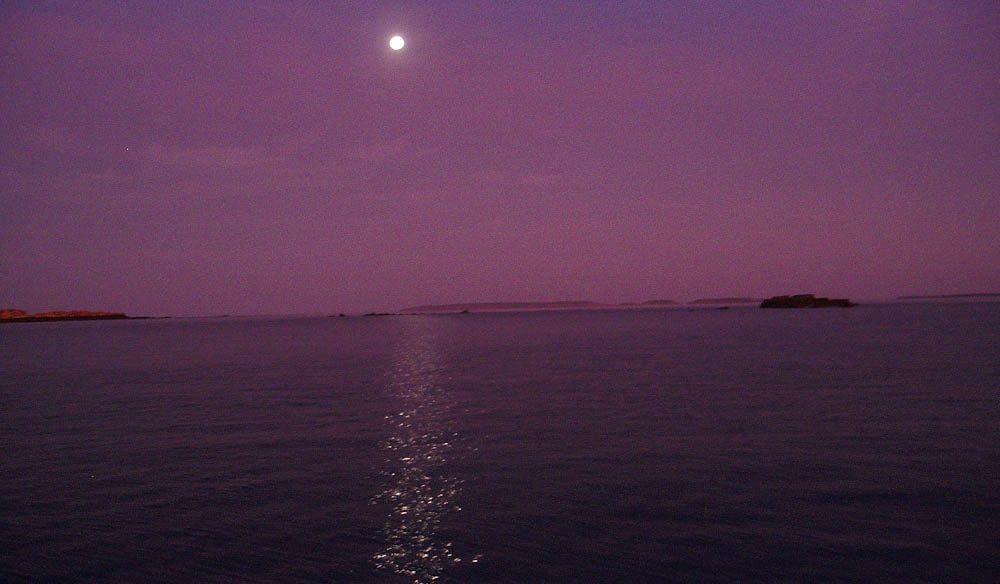 A Kimberley Coast moon.