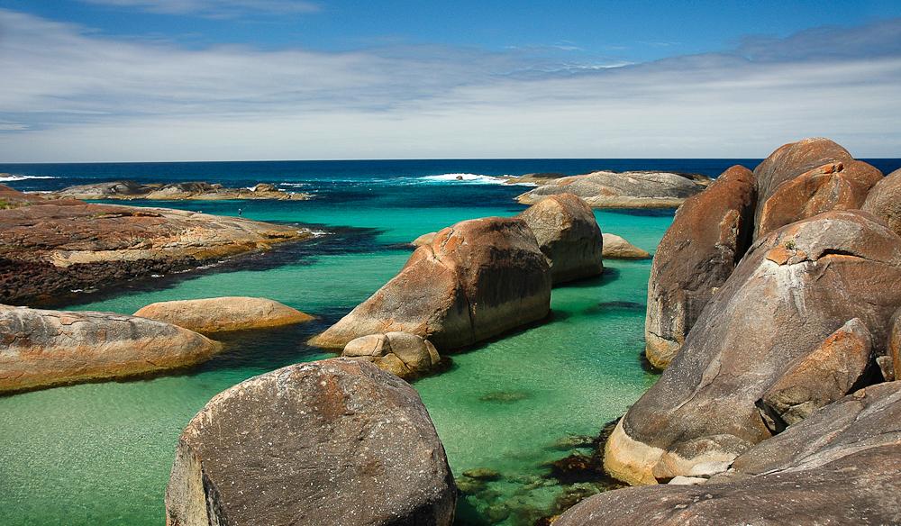 Elephant Rocks, Denmark, WA.