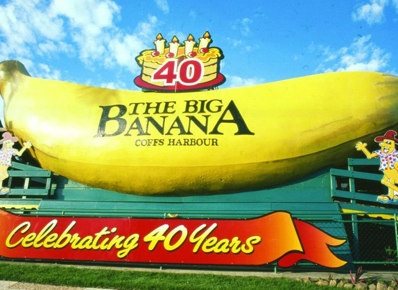 Big Banana at Coffs Harbour, mid north coast of NSW