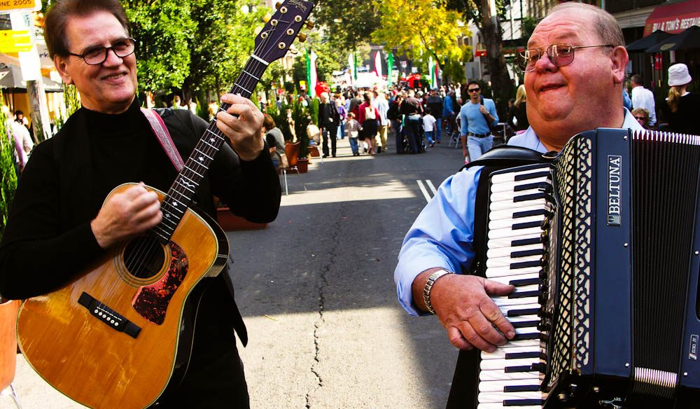 The tunes of Little Italy, Sydney