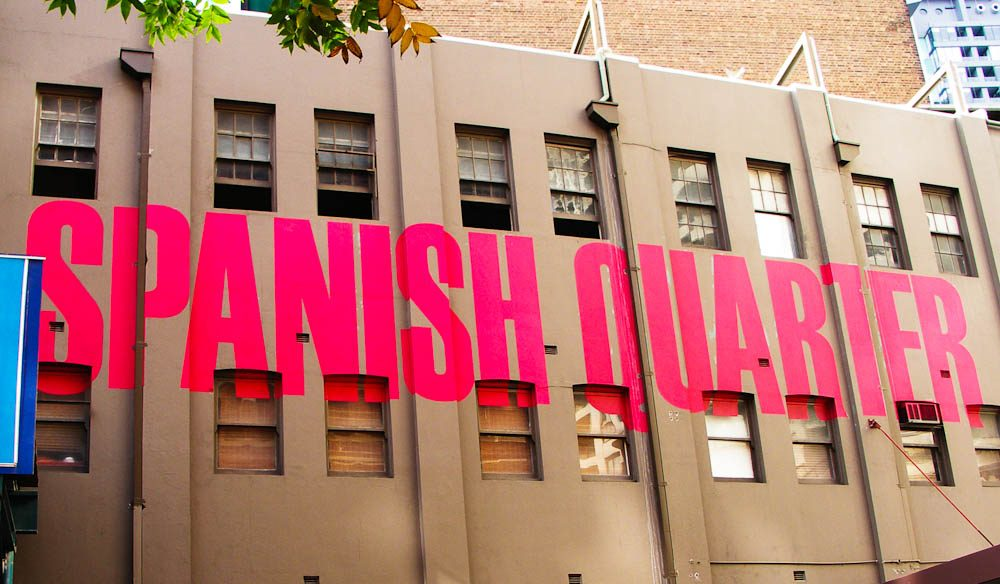 The Spanish Quarter in central Sydney