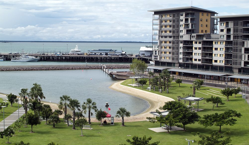 Focal point: Darwin's waterfront.